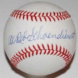 RED SCHOENDIENST signed ONL baseball (FULL NAME) *ST LOUIS CARDINALS* JSA W/COA