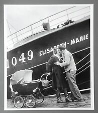 Willy Ronis Ltd. Ed. Photo Print 30x35 Für Neufundland, Fécamp France 1949 Kiss