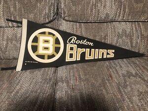 "1970 NHL BOSTON BRUINS 30"" Pennant w/ Tassels BOBBY ORR PHIL ESPOSITO"