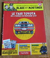 FASCICULE BLAKE ET MORTIMER N° 27 ~ LE TAXI TOYOTA