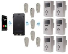 Covert Battery Powered 3G GSM UltraDIAL Alarm supplied with 6 x PIR with Sirens
