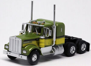 Athearn HO KW Kenworth OwnerOperator Truck Tractor Green-Green 1/87 ATH41049 NEW