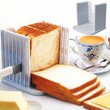 Kitchen Pro Tool Bread Loaf Toast Slicer Cutter Mold Maker Slicing Cutting Guide