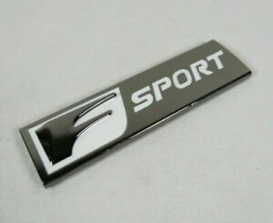 LEXUS F SPORT BADGE REAR TRUNK EMBLEM sign logo is250 is300 is350 gs350 rc350