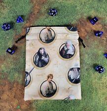 Lord of the Rings The Hobbit Characters in Rings dice bag, card bag, makeup bag