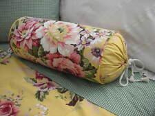 NEW Custom Ralph Lauren Brooke Floral Neck Roll Pillow Neckroll
