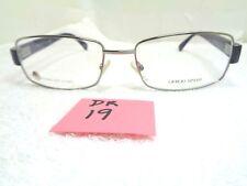 2c5d8c68288c New GIORGIO ARMANI Eyeglasses GA 811 Q02 Stainless Steel Italy Men s (DR-19)