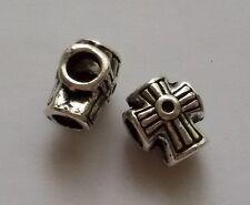 5/10/15 Kreuz Beads Großloch Perlen Paracord Lanyard Armband K05