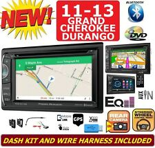 2011-2013 GRAND CHEROKEE & DURANGO DVD CD GPS Navigation Bluetooth Radio Stereo