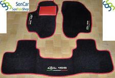 ALFA ROMEO 156 alfombras de automóviles en terciopelo,Alfombrillas a medida+