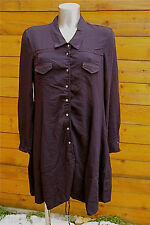 MARITHE FRANCOIS GIRBAUD robe blouse marine TAILLE L NEUVE ÉTIQUETTE valeur 450€