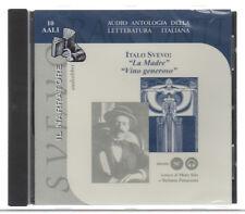 Italo Svevo LA MADRE, VINO GENEROSO  Audiolibro CD-Audio 2000 Nuovo