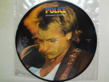 POLICE: Pioneers d Amour-Euro. LP Picture Disc ARC DJ,Live London Lyceum 5-12-78