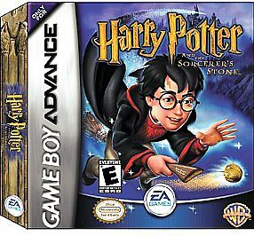 Harry Potter and the Sorcerer's Stone (Nintendo Game Boy Advance, 2001) GBA