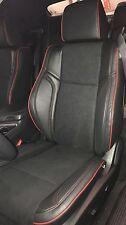 2015-2017 Dodge Challenger SXT RT Custom Design Katzkin Leather NEW Red Suede