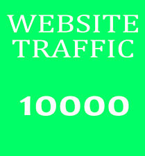 10000 Besucher-Traffic - Bewerbung ihrer Website - Marketing und Promotion Top