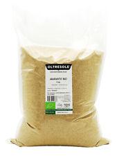 Oltresole - Amaranto Biologico 5 Kg - cereale crudo in grani, semi da coltivazio