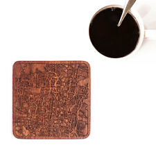 Tehran map coaster One piece  wooden coaster Multiple city IDEAL GIFTS