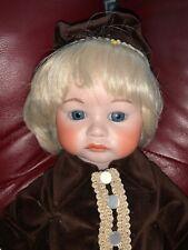 Vtg 19� Repro Head 252 Sfbj Boy Doll Thelma Dick Porcelain Bisque Antique Body
