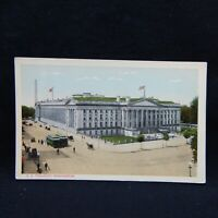 POSTCARD U. S. TREASURY BUILDING, WASHINGTON, D. C.