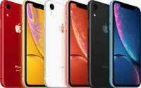 Apple iPhone XR 128/256 GB Unlocked Blue, Black, Red, White, Yellow & Coral