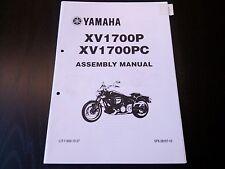 Yamaha XV 1700 P PC XV1700P XV1700PC  2001 Assembly Manual Montageanleitung