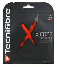 NEW Tecnifibre X-Code HD 1.30 Gauge 16 Tennis String POWER + PRECISION