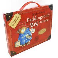 Paddington Big Suitcase 6 Books Children Collection Paperback By Michael Bond