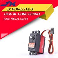 JX PDI-6221MG Ultra Torque Metal Gear 20KG Digital Servo For RC Car & Drone
