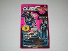 GI JOE: Snake Eyes Mint In Package Made By HASBRO In 1992