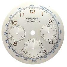 Wakmann Venus 178 Dial Part 17 Jewels Shock Protected Watch Dial Repair