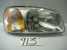 2000 2001 2002 Hyundai Accent PASSENGER Side Used Headlight Front Lamp #913-H