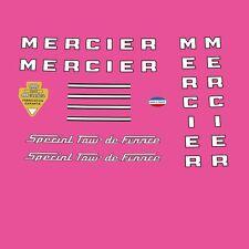 Mercier Special Tour de France Bicycle Frame Stickers - Decals n.200