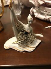 Capodimonte Dipinto A Mano Ballerina Figurine Gently Used