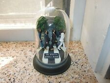 Franklin Mint Glass Domed Beatles Abbey Road Music Box, Plays Here Comes the Sun