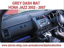 GREY DASH MAT, DASHMAT, DASHBOARD COVER FIT  HONDA JAZZ 2002-2007,  GREY