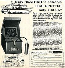 1970 Print Ad of Heath Co Heathkit Electronic Fish Spotter