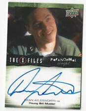 Dean Aylesworth The X Files Ufos & Aliens Paranormal Script Autograph Card Auto