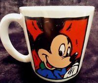 Walt Disney World Mickey Mouse Oversized Ceramic Coffee Mug Cup 16 oz