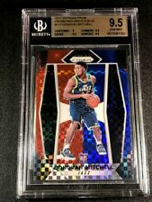 DONOVAN MITCHELL 2017 PANINI PRIZM RED WHITE BLUE REFRACTOR ROOKIE BGS 9.5 (A)