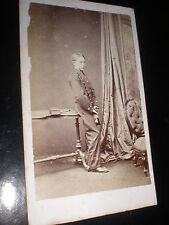 Cdv photograph soldier boy cadet by Hawkins at Brighton c1860s