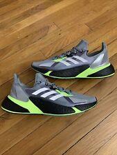 ADIDAS BOOST X9000L4 Grey Green Black FW8385 Running Shoes Men's Size 10