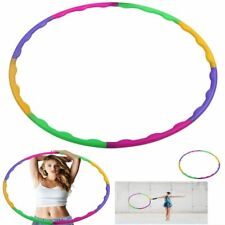 7 Or 8 Tube Detachable Fitness Hula Hoop Home Exercise Lose Weight Workout Adult