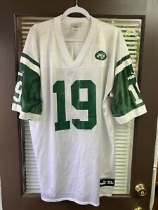 Vintage New York Jets Keyshawn Johnson NFL #19 Puma NFL Football Jersey NY 90's