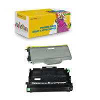 2PK Compatible DR360 + TN360 Drum & Toner for Brother MFC-7440 MFC-7840 MFC-7340