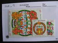 NEW ZEALAND 1993 Xmas Christmas set Sc 1164-9 MNH