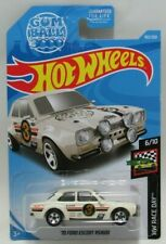 Hot Wheels HW Race Day 6/10 White '70 Ford Escort RS1600 102/250 Mattel 3+