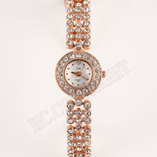 Mother's Day Rose Gold Bracelet Womens Watches Casual Quartz Waches Gifts