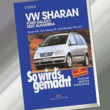 So wirds gemacht (Band 108) | VW SHARAN / FORD GALAXY / SEAT ALHAMBRA (Buch)