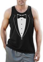 Bowtie Tuxedo Prom Suit Funny Singlet Bachelor Party Groom Outfit Tux Costume